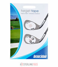 50 Longridge Target Tape Golf Club Impact stickers - recognize strike patterns