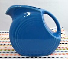 Fiestaware Peacock Juice Pitcher - Fiesta Retired Small Blue Disc Pitcher NWT