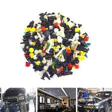 200PCS Car SUV Auto Various Plastic Rivet Fasteners Push Pin Bumper Fender Panel