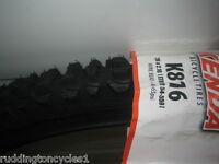 Black Smoke Kenda 26 x 2.10 MTB cycle / bike tyre Knobly Winter Tread K816