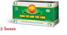 2x Organic Jiaogulan Gynostemma Pentalhyllum - Herbal Giao Co Lam - Healthy Tea