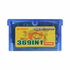 369 Game in 1 Game Boy Advance Game Cartridge - All GBA and SNES Games You Love