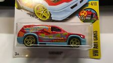 "2015 Hot Wheels FANDANGO ""HW Art Cars"" 4/10 Red/Lt Blue (242/365) New"