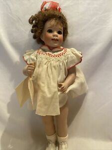 "Wendy Lawton Doll Company 1994 Katie Porcelain Doll 374/750 -14"" Tall"