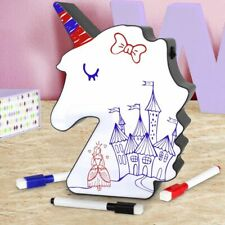 Unicorn Led Light up White Board Messaging Sign