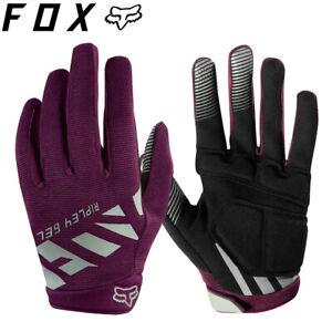 Fox RIPLEY GEL Womens MTB Gloves - Plum Purple - S, M, L
