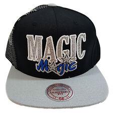 MITCHELL & NESS ORLANDO MAGIC MULTI TEAM COLORS BLACK/GREY SNAPBACK CAP