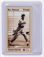 1947 Bill Thomas Houma Indians pitcher, Louisiana Evangeline League 35 wins