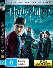 Harry Potter And The Half-Blood Prince - DVD NEW & Sealed 2 Disc Limited Edition