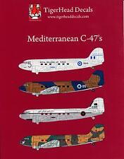 Tigerhead Decals 1/48 DOUGLAS C-47 DAKOTA Mediterranean C-47s