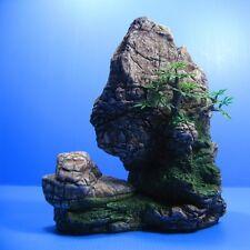 21x22.5cm cmMountain View Aquarium Ornament decoration- Rock Tropical Fish tank