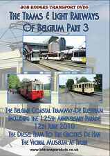 Trams & Light Railways Belgium Part 3, Coastal Tramway + Vicinal Museum DVD