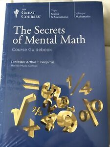 The Secrets Of Mental Math- The Great Courses NEW Course Guidebook