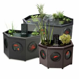 Blagdon Affinity View & Half Moon Garden Free Standing Pond & Filter Uv Setup