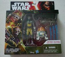 "Star Wars Rebels Garazeb Orrelios & C1-10P ""CHOPPER"" Brand New Sealed"