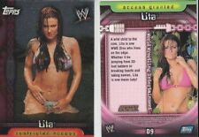 LITA 2006 Topps Insider WWE DIVAS Insert Card #D9  *USA FOIL VERSION*