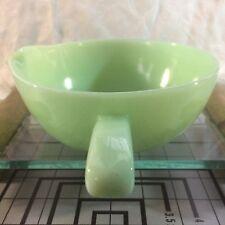 VTG Jadeite Colored Single Spout Fire king Skillet Bowl