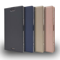 Ultra-thin Wallet Leather Flip Case Cover For Sony Xperia 1 10 XA2 XZ2 XA1 L1 L2