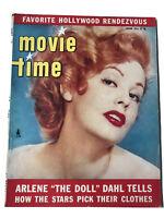 MOVIE TIME Magazine June 1953 Arlene Dahl, John Wayne