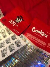 50 pack Jefe OG 3.5g Mylar Bags w *Hologram and Labels*