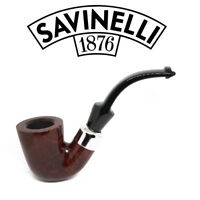 NEW Savinelli - Dry System 621 Smooth  (6mm Filter) Pipe