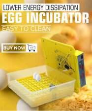 Digital Automatic 56 Eggs Turner Incubator Chicken Hatching Machine   W