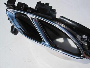 Mercedes Benz SLC43 C Class W205 C43 Right Exhaust Muffler Tips Tip End Bracket