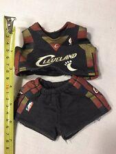 Rare VIntage Cleveland CavaliersPlush Mascot  Jersey Shorts NBA Basketball Doll