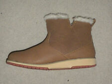 Offer-New-Emu-Beach-Mini-Womens-Chestnut/ Tan - Leather-Ankle-Boot-UK-4 US 6
