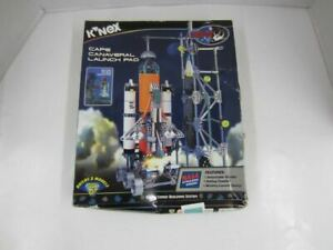 K'Nex #12526 CAPE CANAVERAL LAUNCH PAD Building Set NASA New Open Box