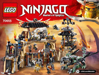 LEGO NINJAGO Instructions / instructions (70655) NEW NEW Dragon Pit