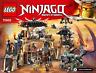 LEGO NINJAGO Notice / Instruction (70655) NEUF NEW Dragon Pit