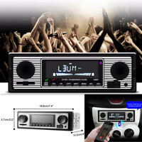 Bluetooth HandFree Car Radio MP3 Player Stereo 1Din FM USB AUX Audio Electronics