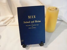 Man : Animal and Divine by Parker and Aldwell (hardcover, 1964, G)