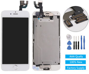 """iPhone 6 4.7"""" White LCD Digitizer Screen Assembly AAA Quality FREE TOOL SHIPPING"""