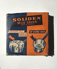 Old Vintage French Solidex Kitchen Milk Saver - Retro Kitchenalia Boxed