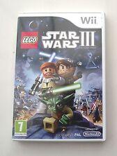 LEGO STAR WARS 3 WII PAL