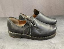 Oktoberfest Casual Shoes, Skywalk, Leather, black, Man's, Size UK8 (Eur 40)