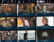 2016 James Bond Spectre Edition 76 card  base set and P1 promo