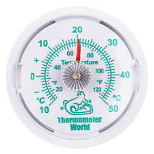 REPTILE TANK THERMOMETER VIVARIUM TERRARIUM TEMPERATURE METER 65MM DIAL IN-070