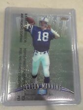 1998 Topps Finest Peyton Manning RC #121 Unpeeled With Coating HOF Colts PSA ?