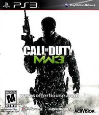 CALL OF DUTY MW3 M W 3 GIOCO USATO PER PLAYSTATION 3 PS3