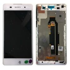 Sony écran LCD complet avec cadre pour Xperia E5 f3311 blanc ÉCHANGE RÉPARATION