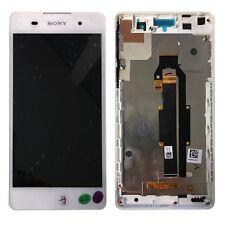 Pantalla Sony LCD completo con marco para Xperia e5 f3311 blanco reparación de sustitución