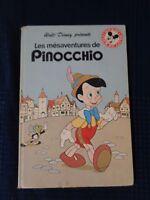 Libro Niño Las Desventuras de Pinocho Walt Disney 1977 Club Libro Mickey
