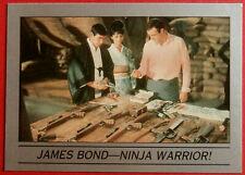 JAMES BOND - You Only Live Twice - Base Card #017 - NINJA WARRIOR - Eclipse 1993