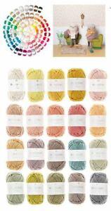 Wolle 25g Knäul Ricorumi Wolle Baumwolle Häkel Garn 80 Farben Amigurumi 383227