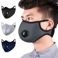1 Masque de protection tissu coton lavable avec valve