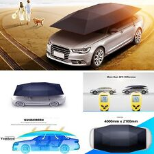 Car Tent Semi Folded Portable Automobile Protection Umbrella Sunproof Car Hood