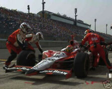DAN WHELDON 8x10 PHOTO car in pits photograph PICTURE